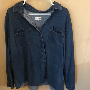 Old Navy Plus Button Down